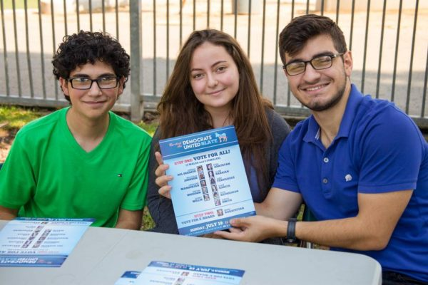 ANCA-Glednale interns supporting 43rd ADEM Elections